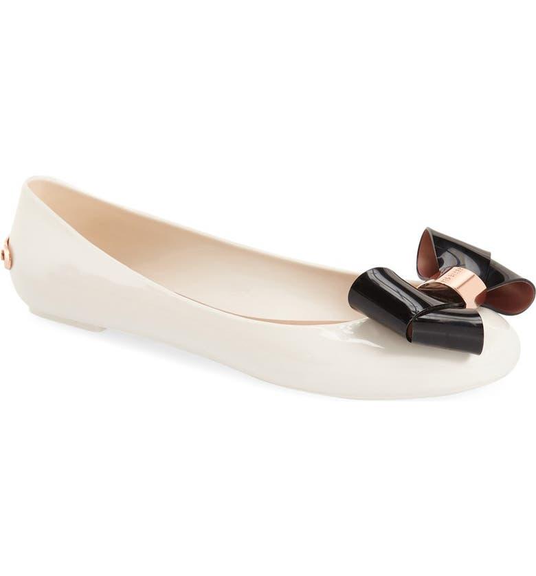 287831b242 Ted Baker London 'Faiyte' Bow Jelly Flat (Women) | Nordstrom