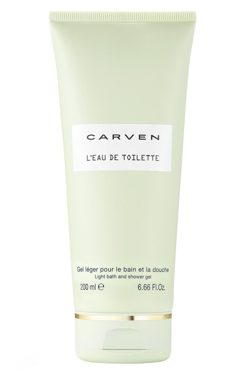CARVEN L'Eau de Toilette Light Bath & Shower Gel, Main, color, NO COLOR