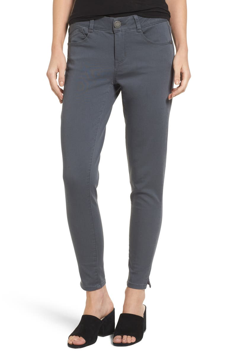WIT & WISDOM Ab-Solution Stretch Twill Skinny Pants, Main, color, 050