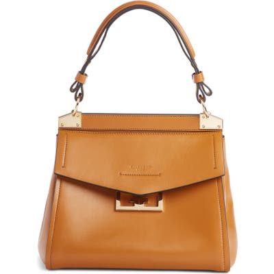 Givenchy Small Mystic Leather Satchel - Brown