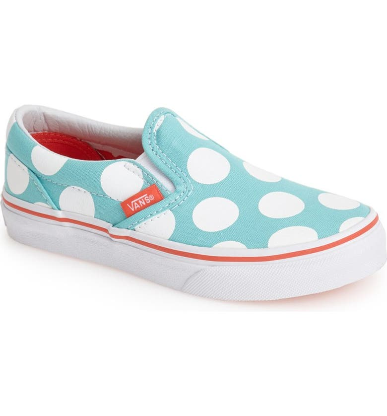 7dbf2faad6 Vans 'Classic - Polka Dots' Slip-On (Toddler, Little Kid & Big Kid ...