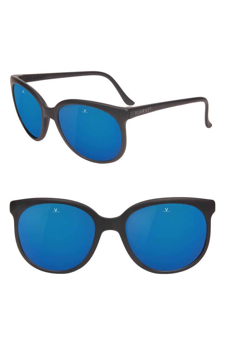 VUARNET Legends 02 55mm Polarized Sunglasses, Main, color, 021