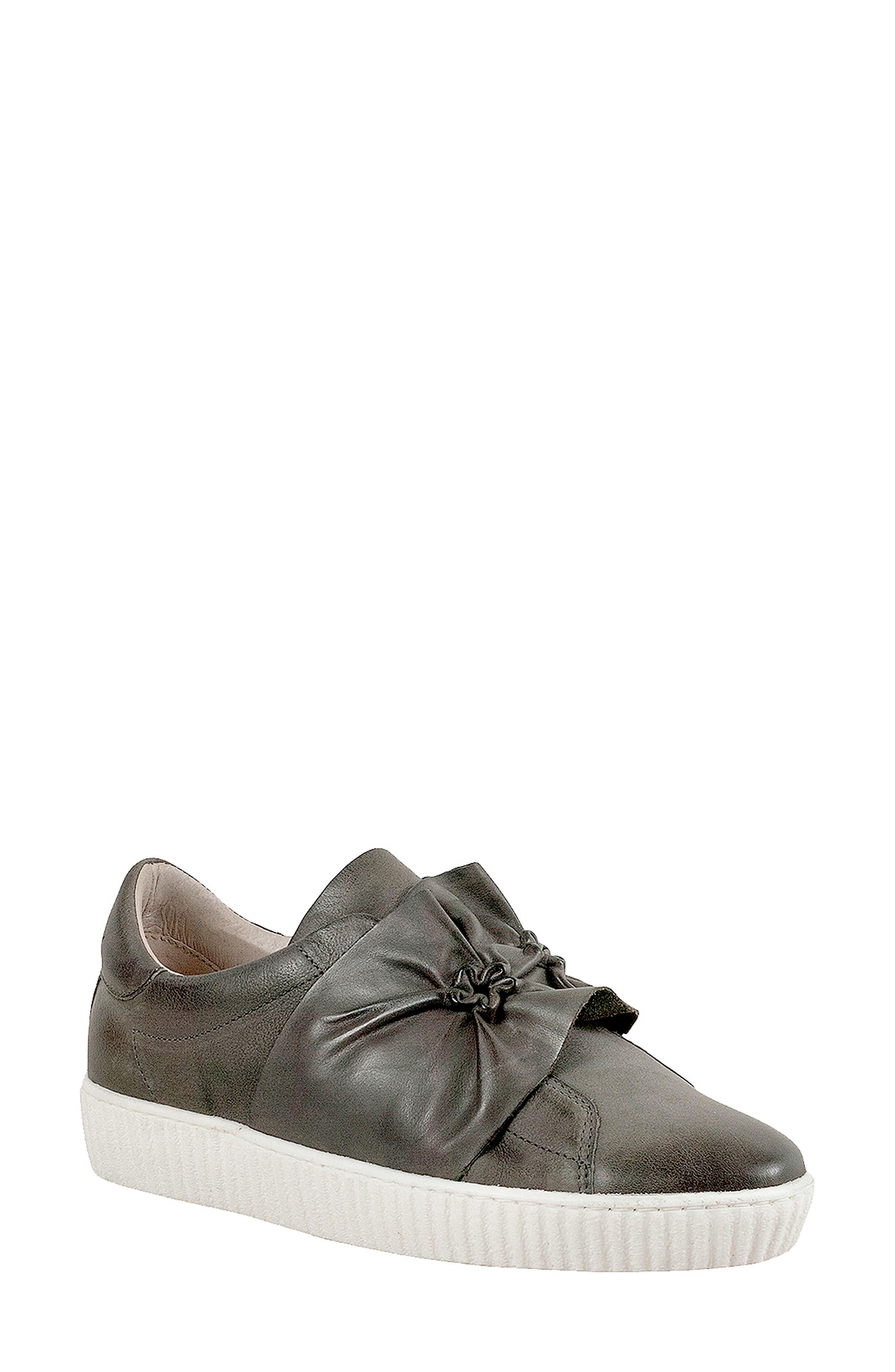 Miz Mooz Orbit Slip-On Sneaker, Grey
