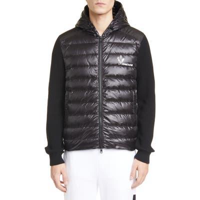 Moncler Quilted Jacket, Black