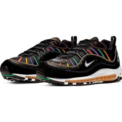 Nike Air Max 98 Premium Sneaker- Black