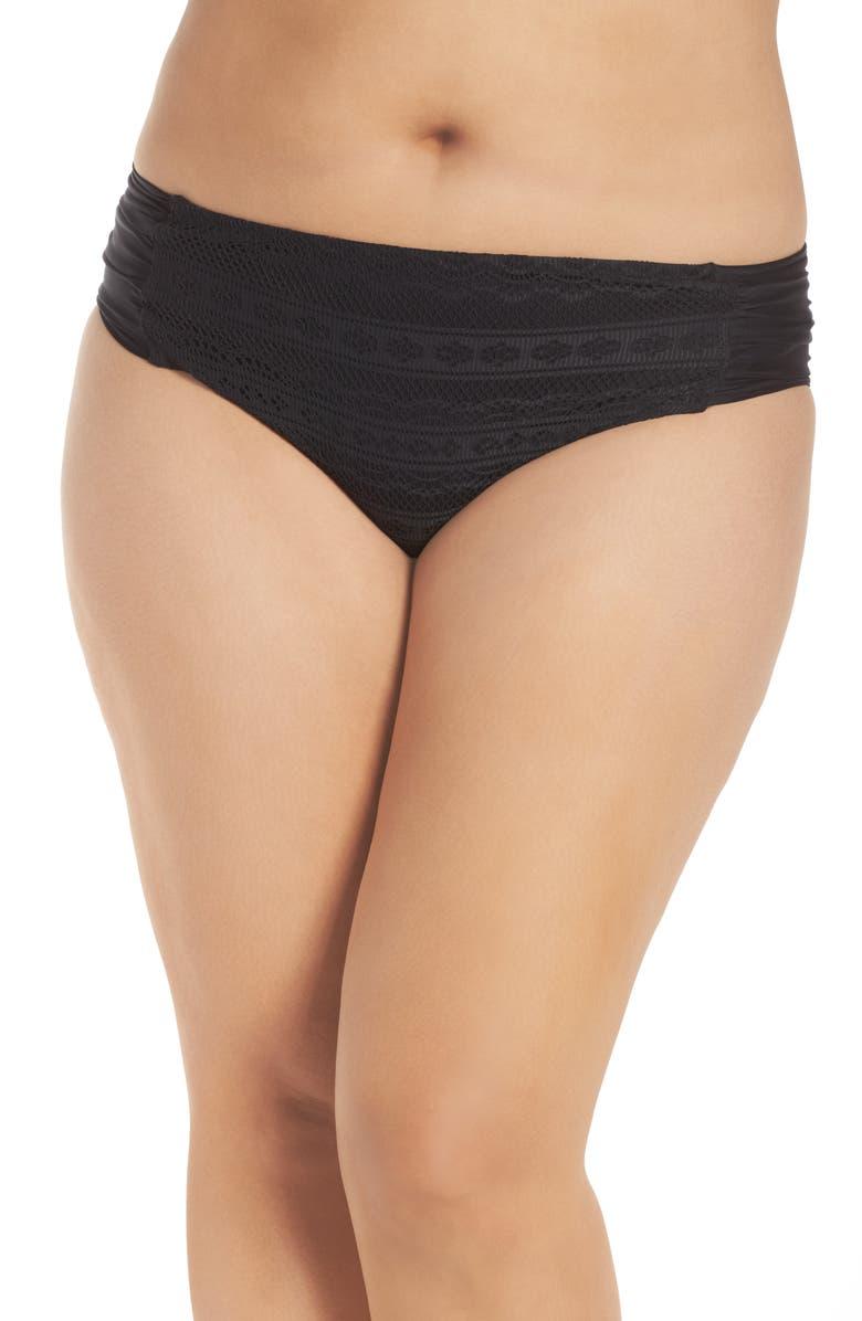 BECCA ETC. Color Play Bikini Bottoms, Main, color, 001