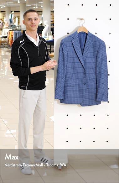 Classic Fit Check Wool Sport Coat, sales video thumbnail