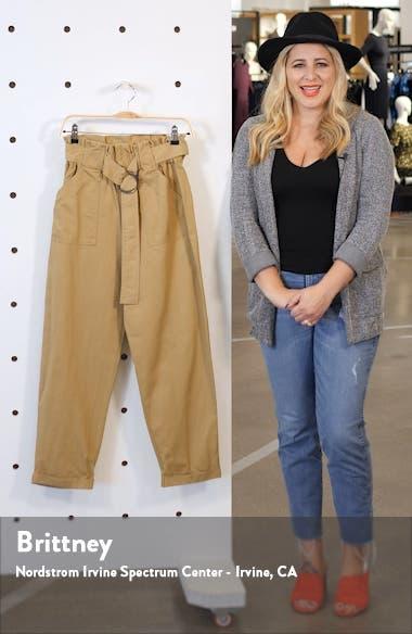 Tapered Paperbag Pants, sales video thumbnail