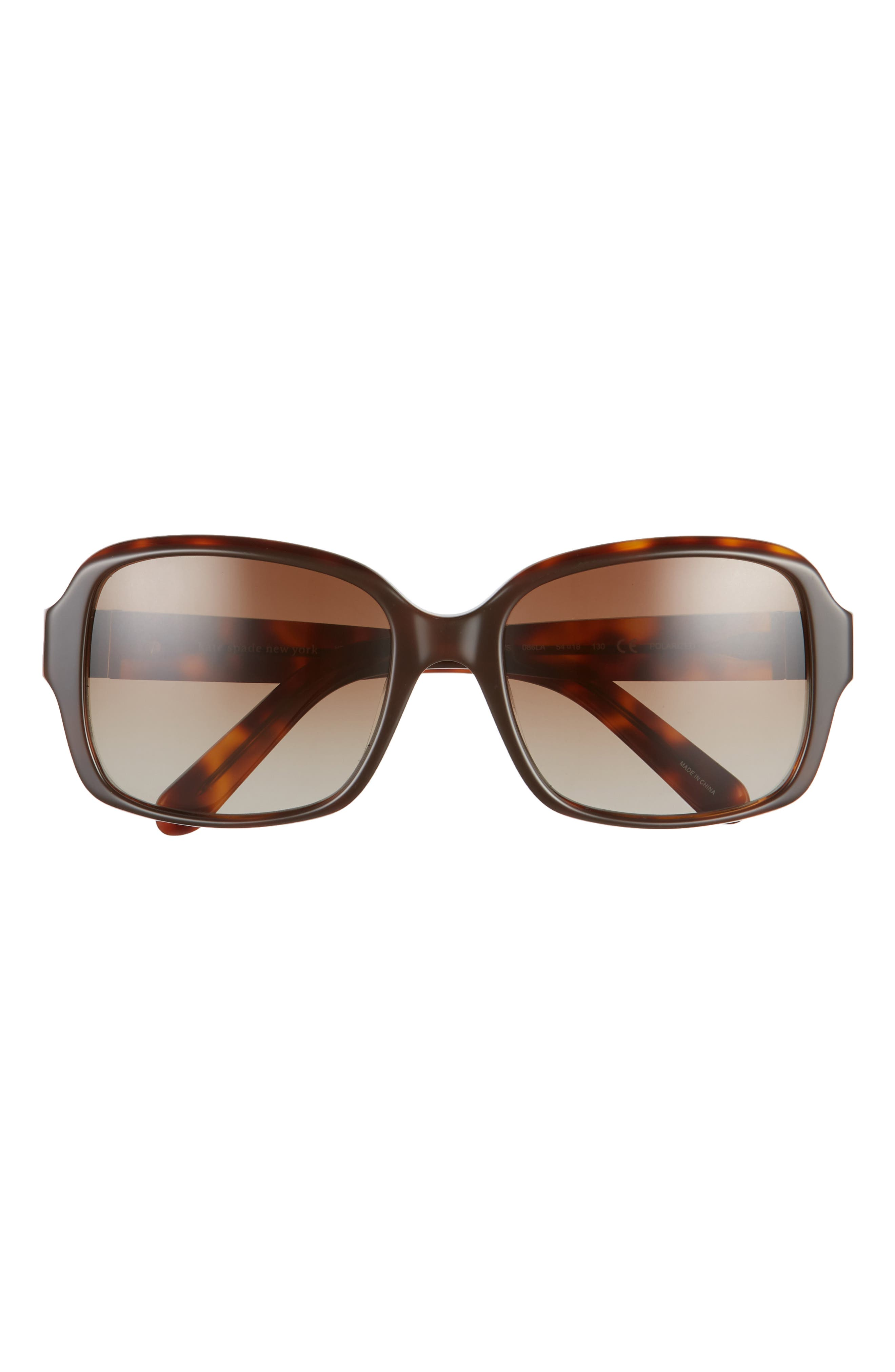 Image of kate spade new york annor 54mm polarized sunglasses