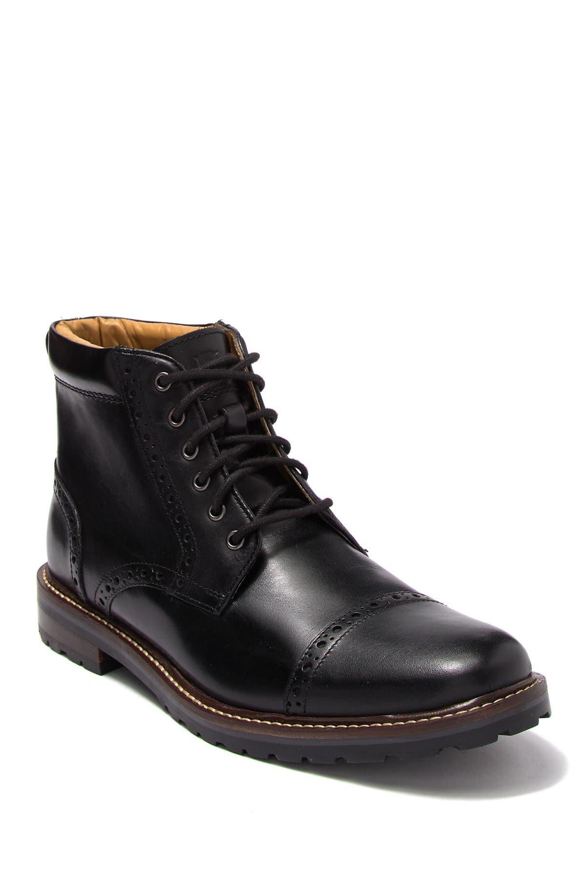 Image of Florsheim Fenway Leather Cap Toe Boot