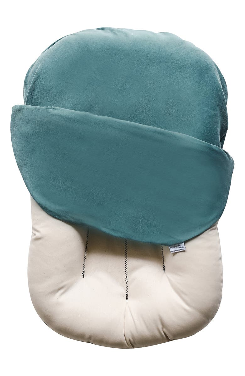 SNUGGLE ME Organic Infant Lounger, Main, color, MOSS