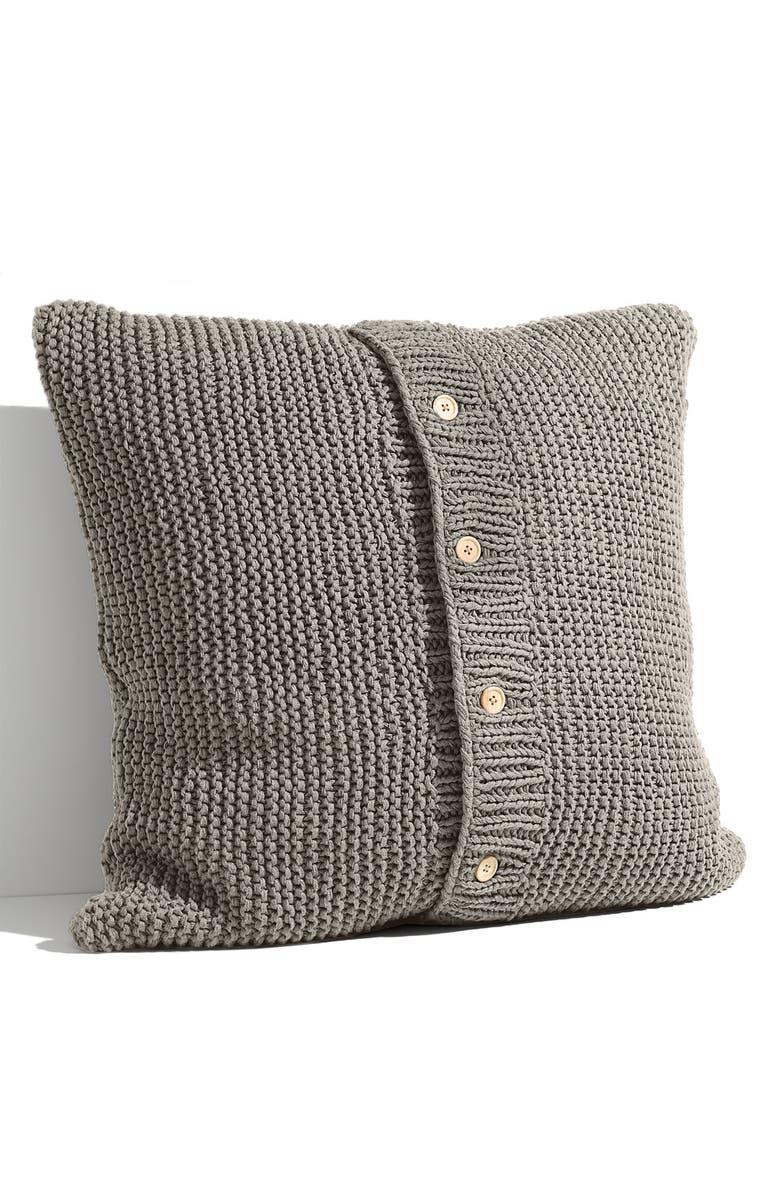 NORDSTROM AT HOME Nordstrom Chunky Knit Euro Pillow Sham, Main, color, 020