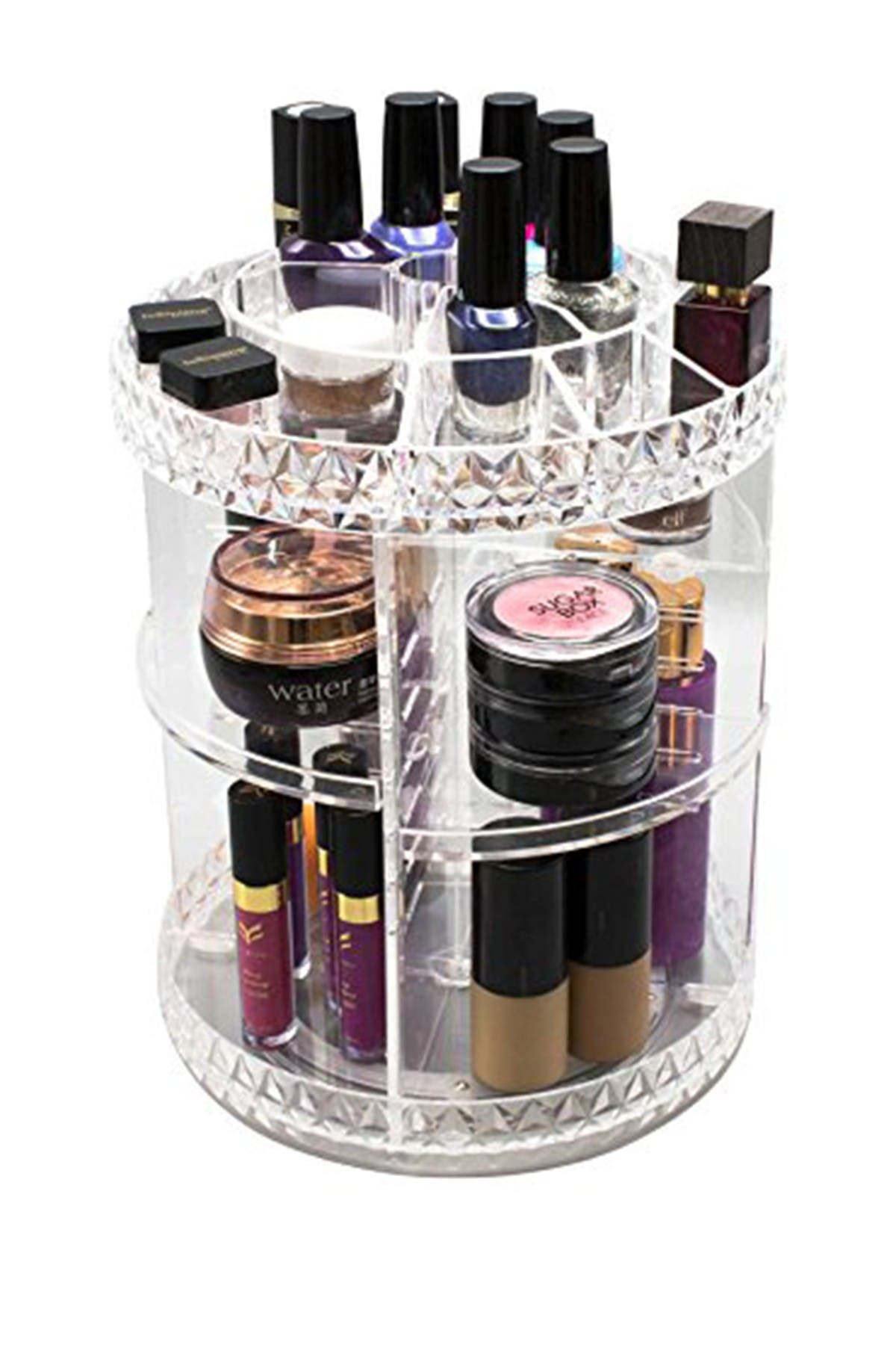 Image of Sorbus Rotating Makeup Organizer