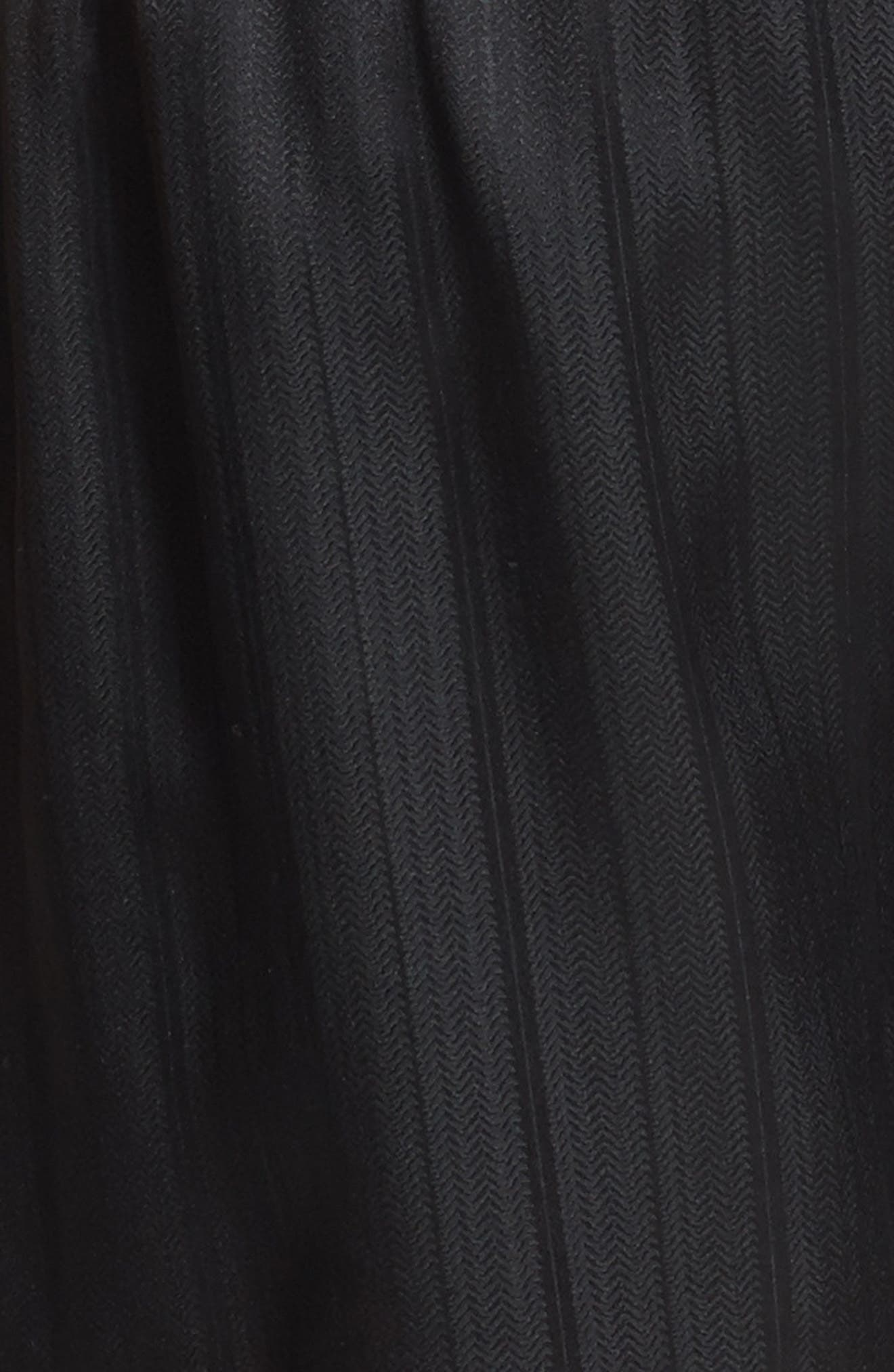 ,                             Herringbone Stripe Silk Boxer Shorts,                             Alternate thumbnail 3, color,                             NIGHT