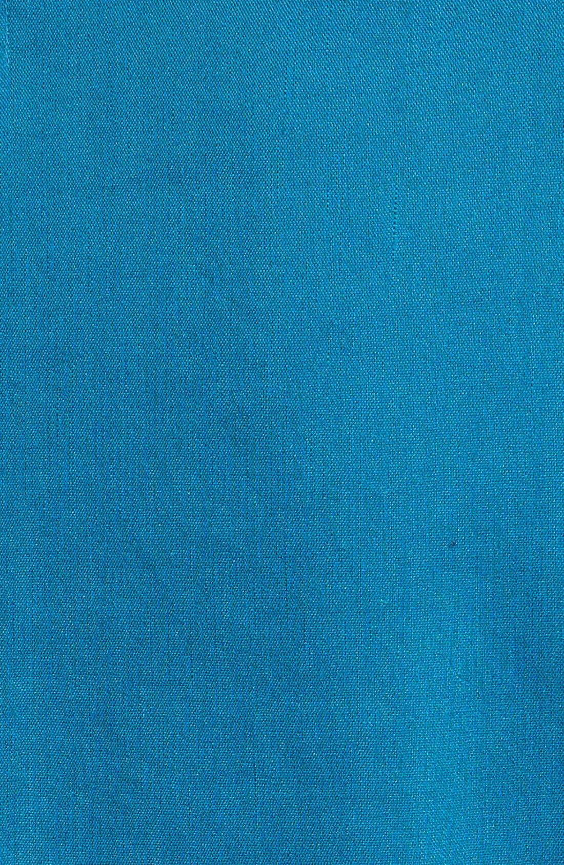 ,                             Seamed Back Linen Blend Blazer,                             Alternate thumbnail 11, color,                             449