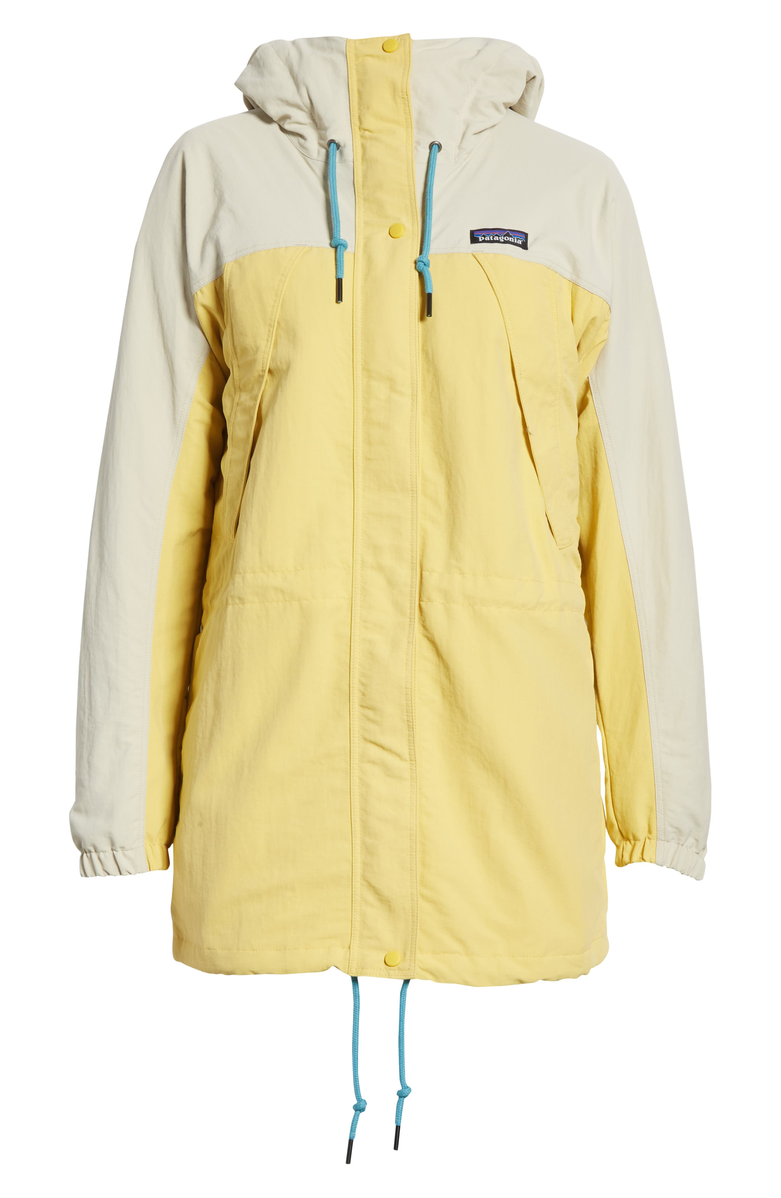 Patagonia Skyforest Water Repellent Hooded Parka, Yellow