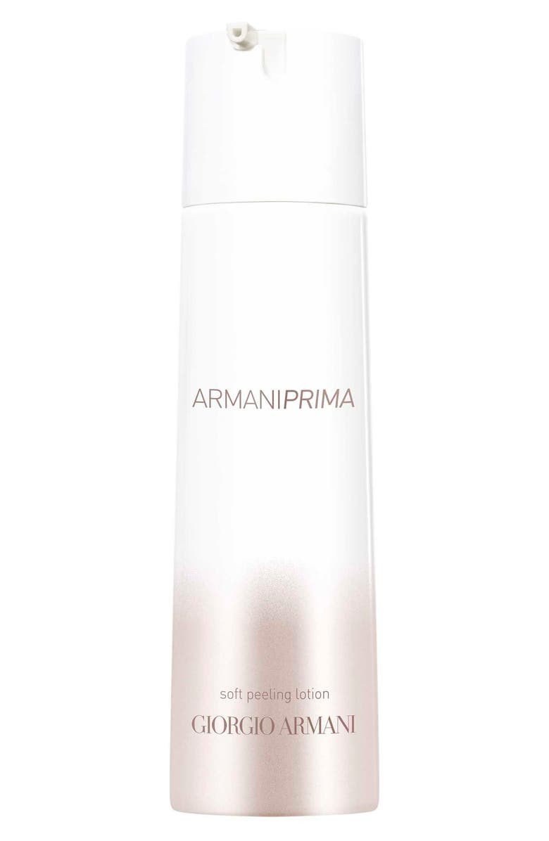 GIORGIO ARMANI Prima Soft Peeling Serum Lotion, Main, color, NO COLOR