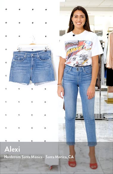 Dre Distressed Cutoff Shorts, sales video thumbnail