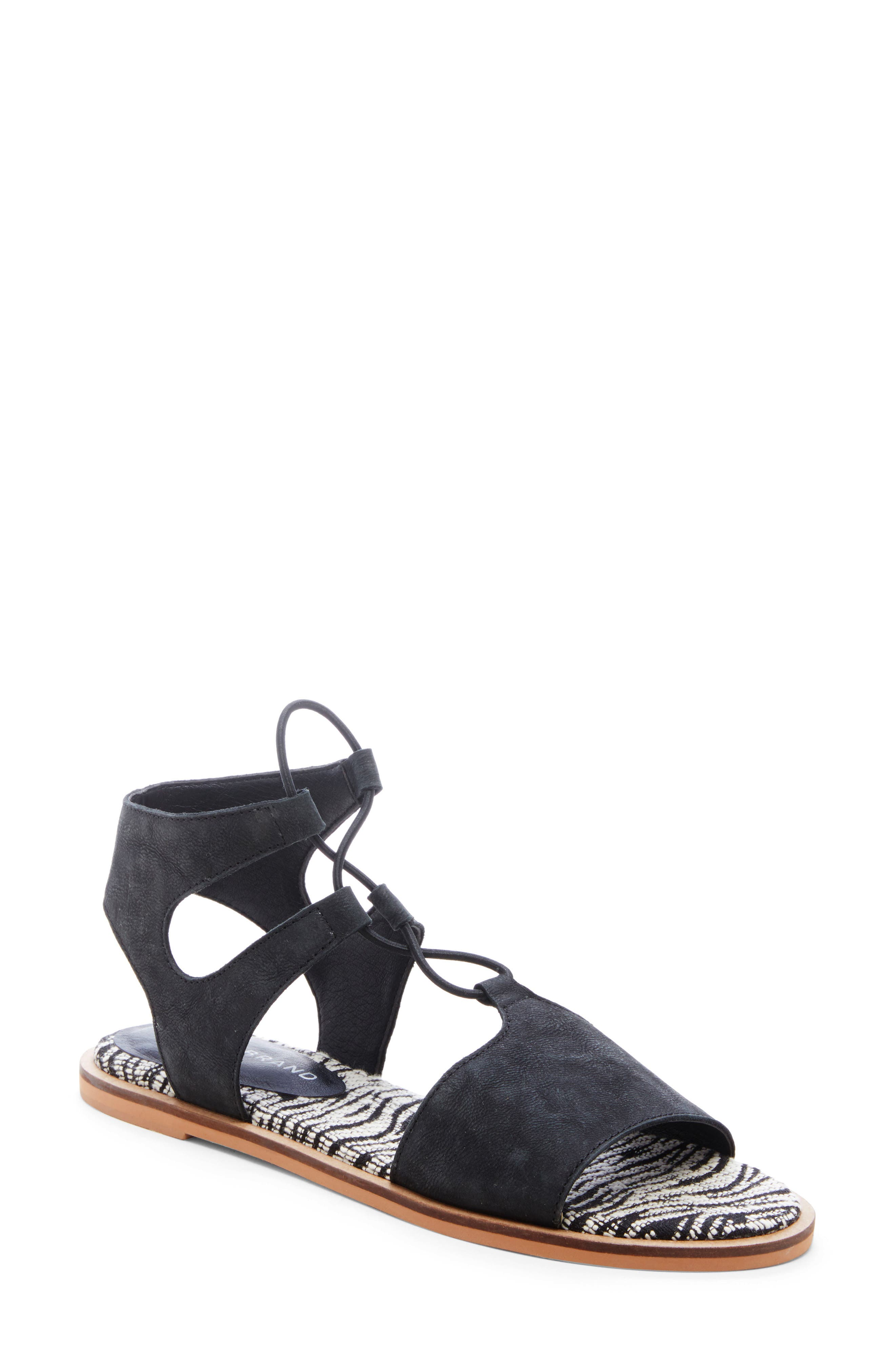 Lucky Brand Feray Gladiator Sandal, Black