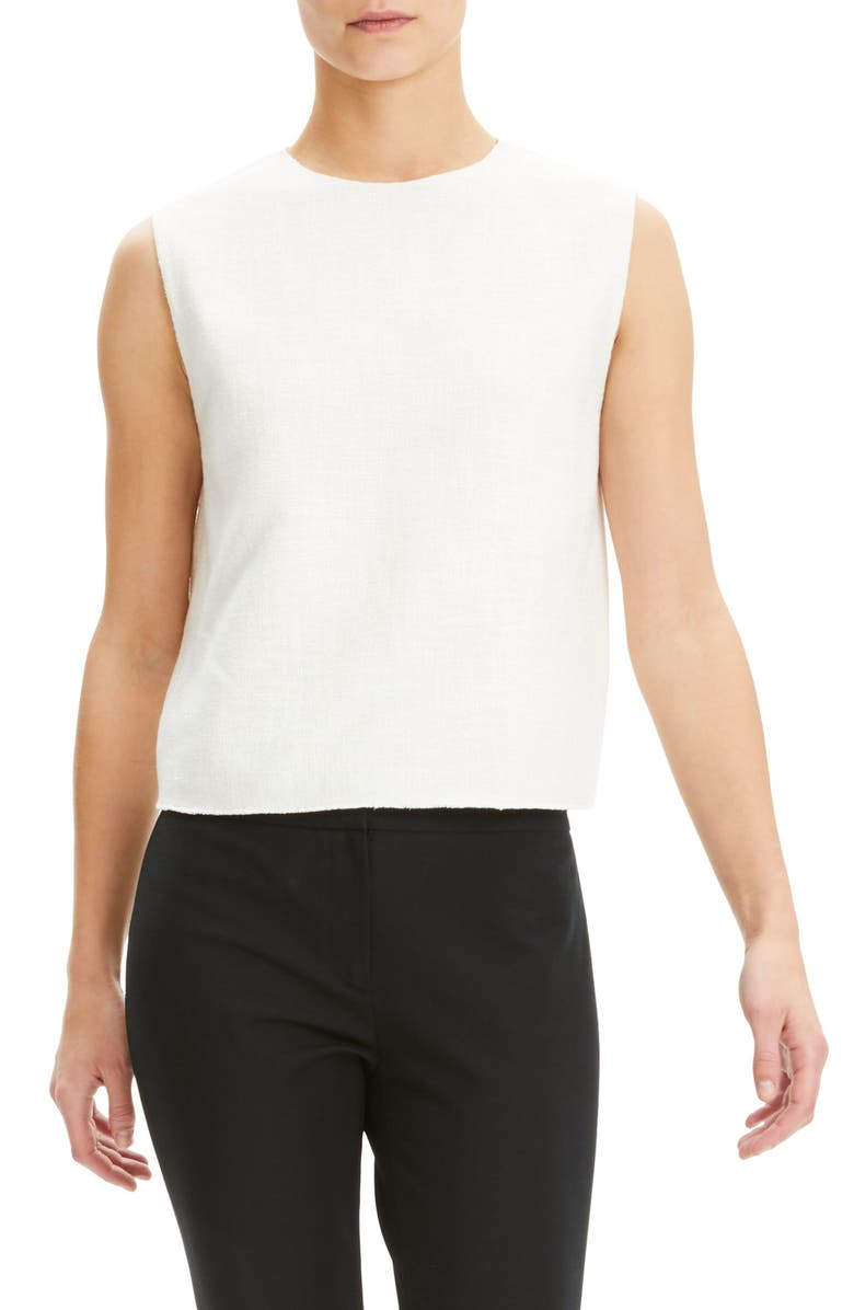 THEORY Crop Shell, Main, color, 102
