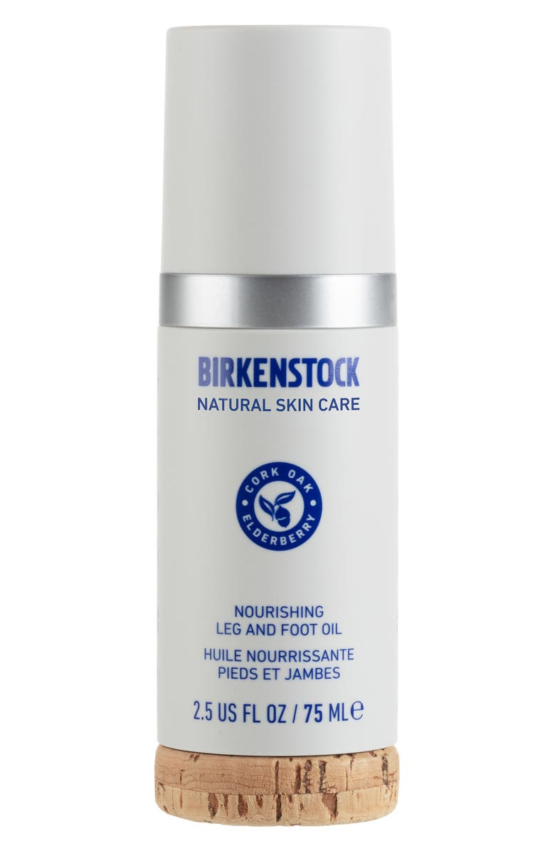 BIRKENSTOCK Nourishing Leg and Foot Oil, Main, color, NO COLOR
