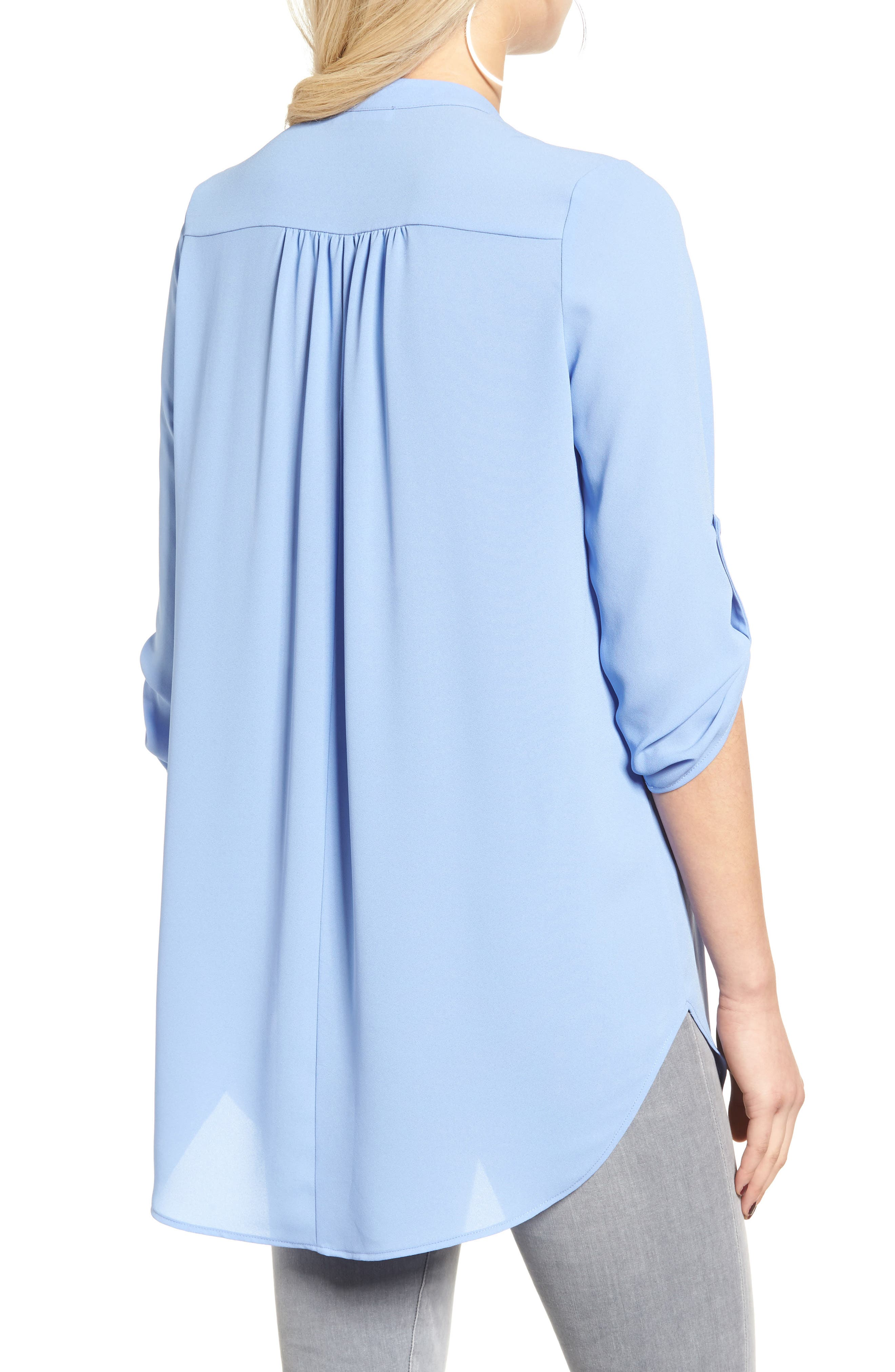 ,                             Perfect Roll Tab Sleeve Tunic,                             Alternate thumbnail 314, color,                             484