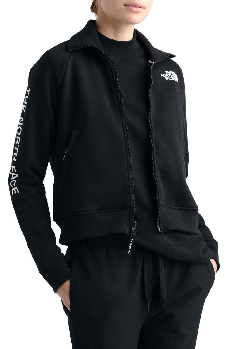 THE NORTH FACE Graphic Zip Jacket, Main, color, 001