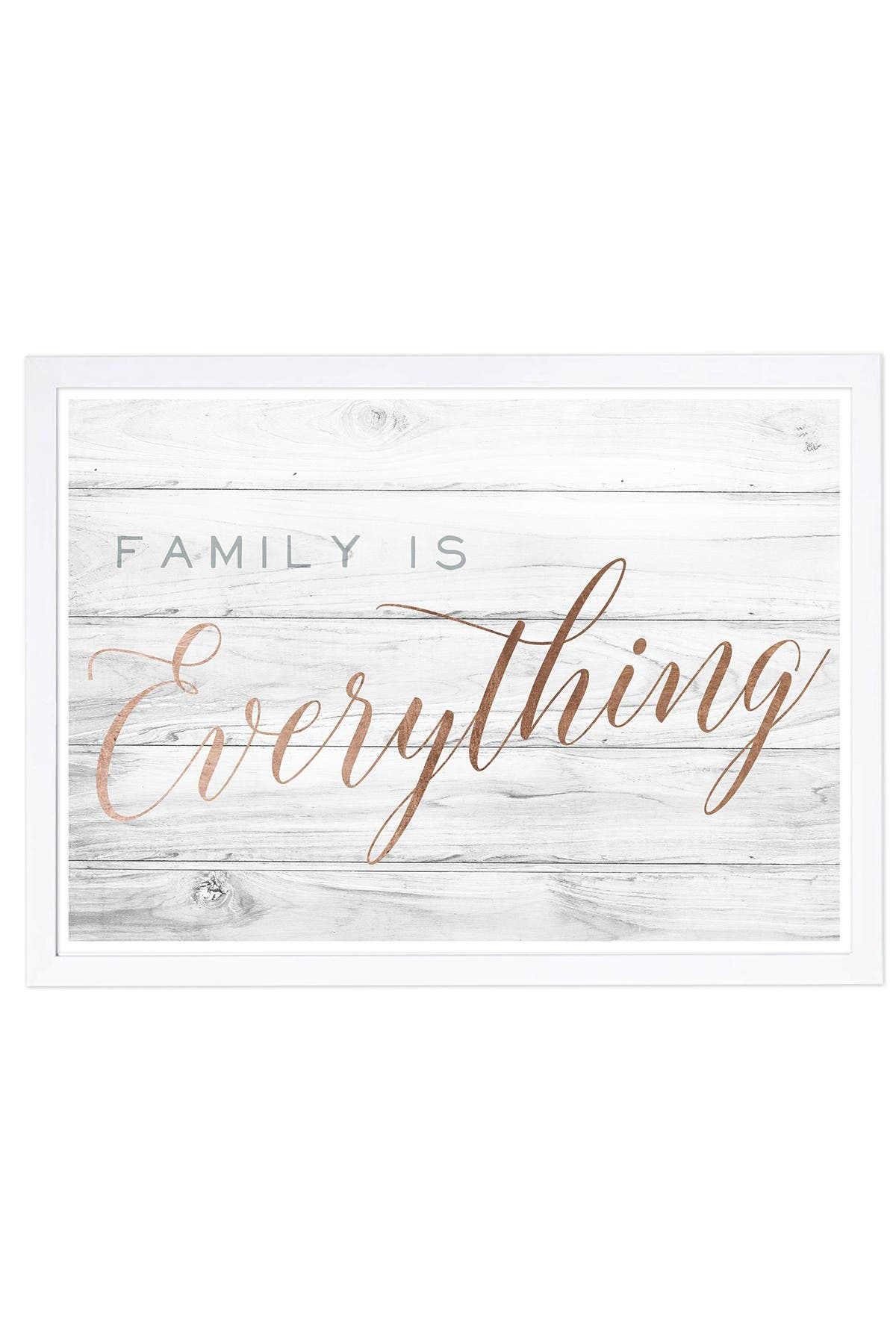 Wynwood Studio Family is Everything Bronze Framed Wall Art at Nordstrom Rack