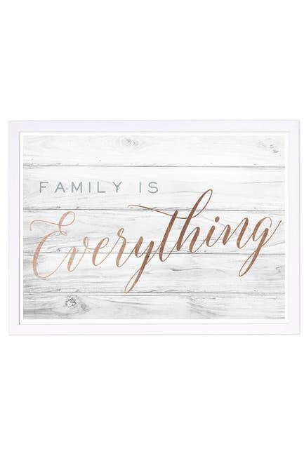 Image of Wynwood Studio Family is Everything Bronze Framed Wall Art