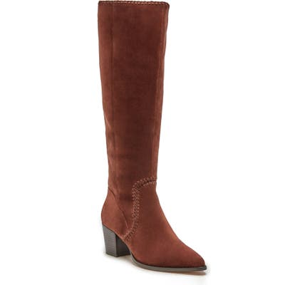 Sole Society Alexie Knee High Boot, Brown