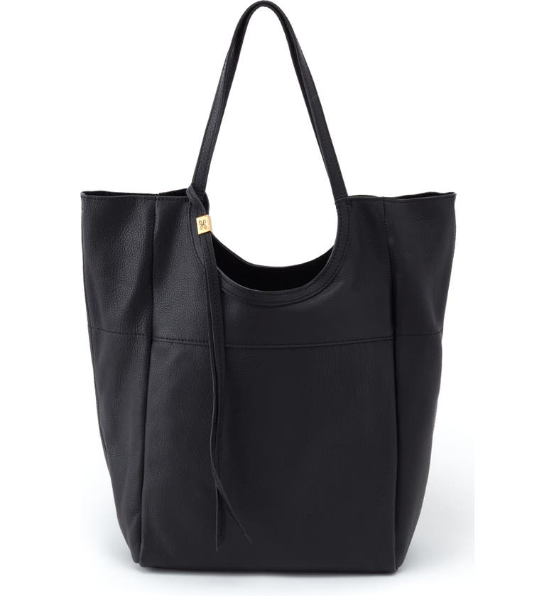 HOBO Native Leather Tote, Main, color, 001