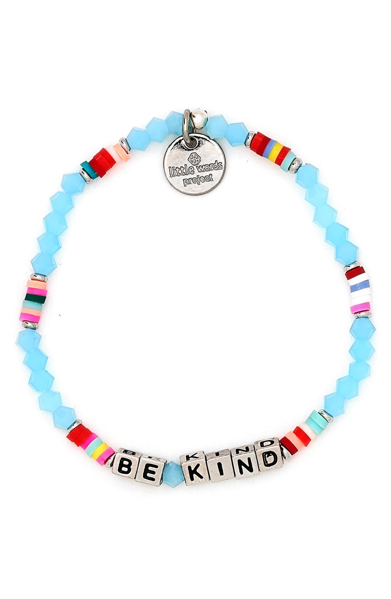 Be Kind Beaded Stretch Bracelet