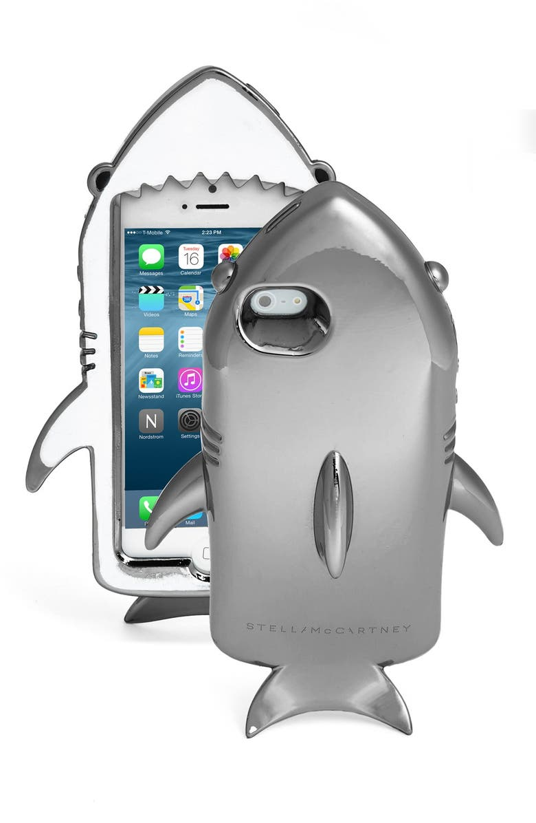 new style fc311 97477 Metallic Shark iPhone 6 & 6s Case