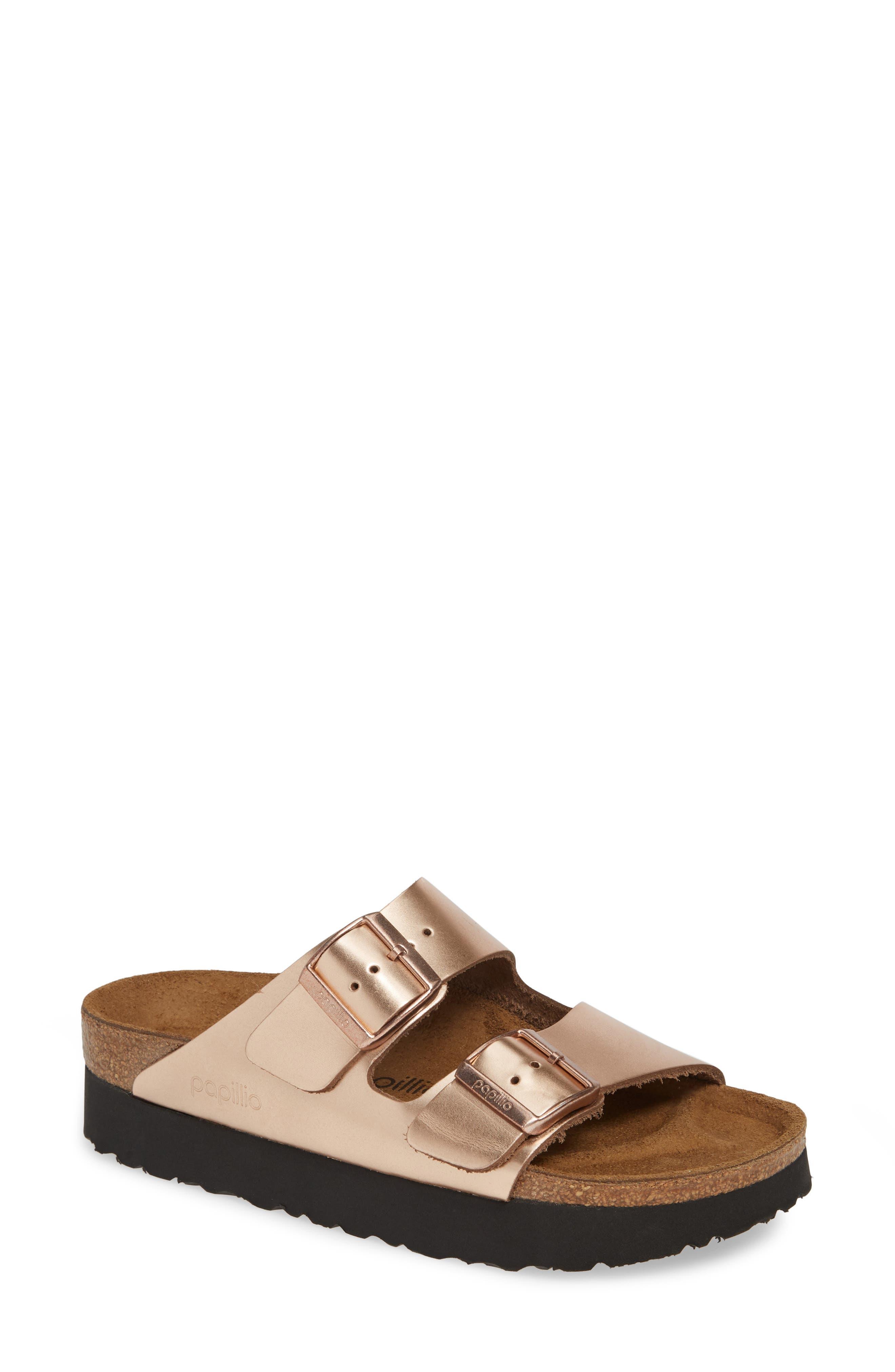 Birkenstock Slippers Papillio by Birkenstock Arizona Platform Sandal