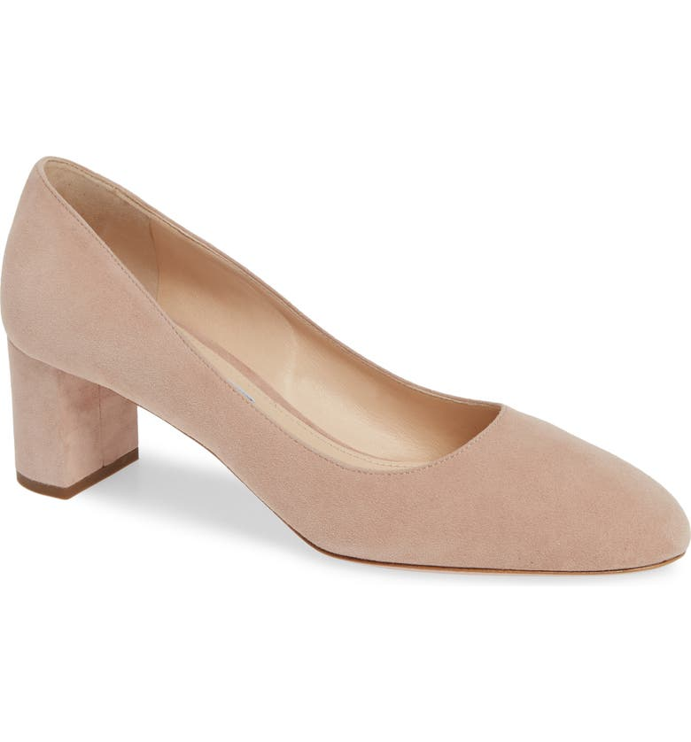 PRADA Low Pump, Main, color, NUDE