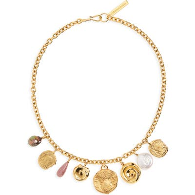 Lizzie Fortunato Victoria Charm Necklace