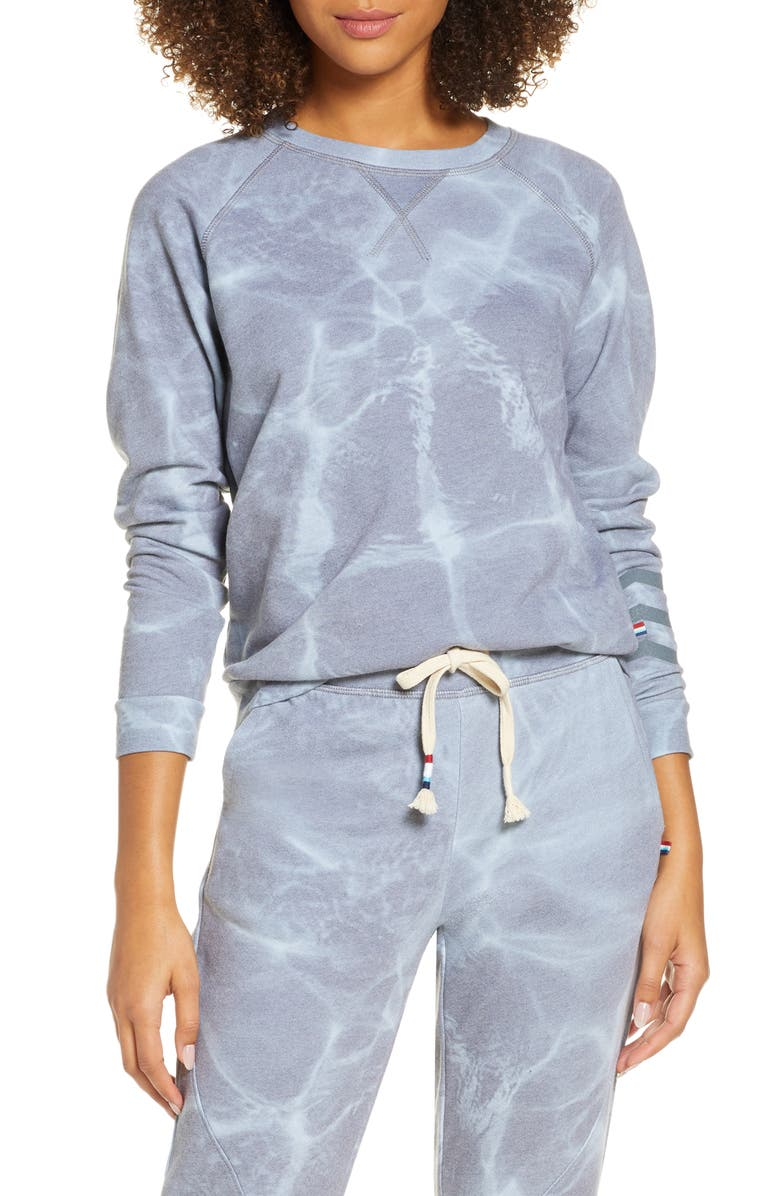 SOL ANGELES Smoky Waters Sweatshirt, Main, color, SMOKEY WATERS