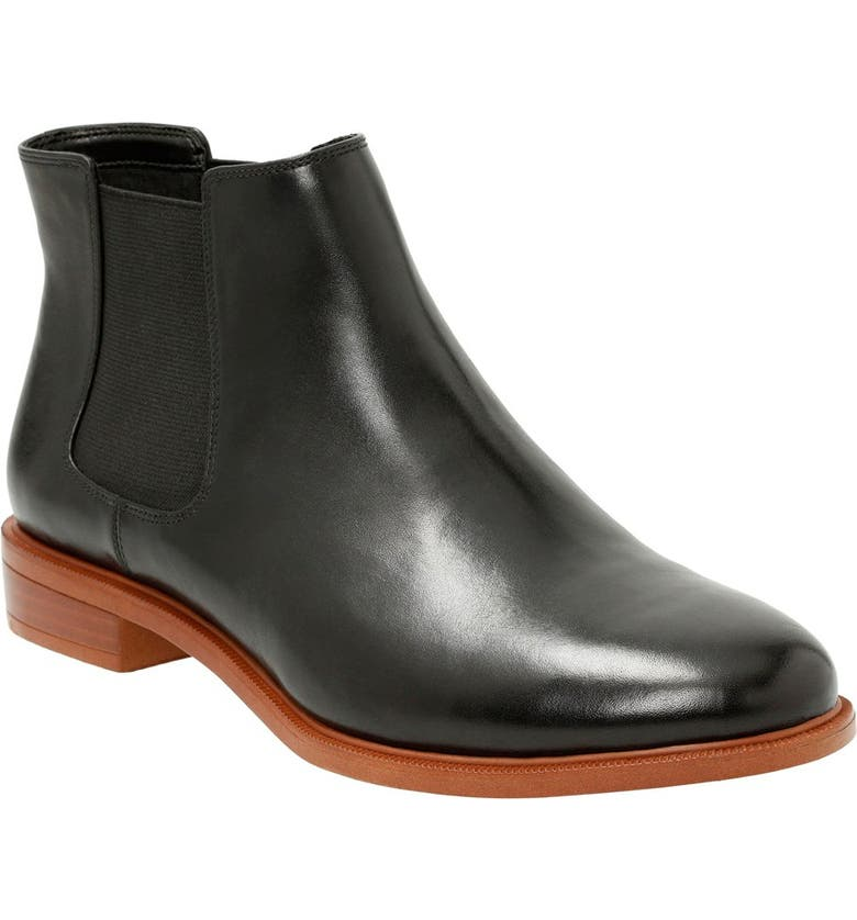 CLARKS<SUP>®</SUP> 'Taylor Shine' Chelsea Boot, Main, color, 003