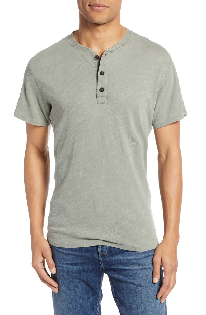RAG & BONE Standard Issue Henley, Main, color, OAK