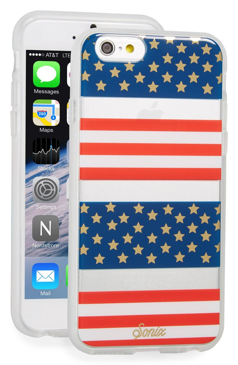 SONIX 'Born in the USA' iPhone 6 & 6s Case, Main, color, 600