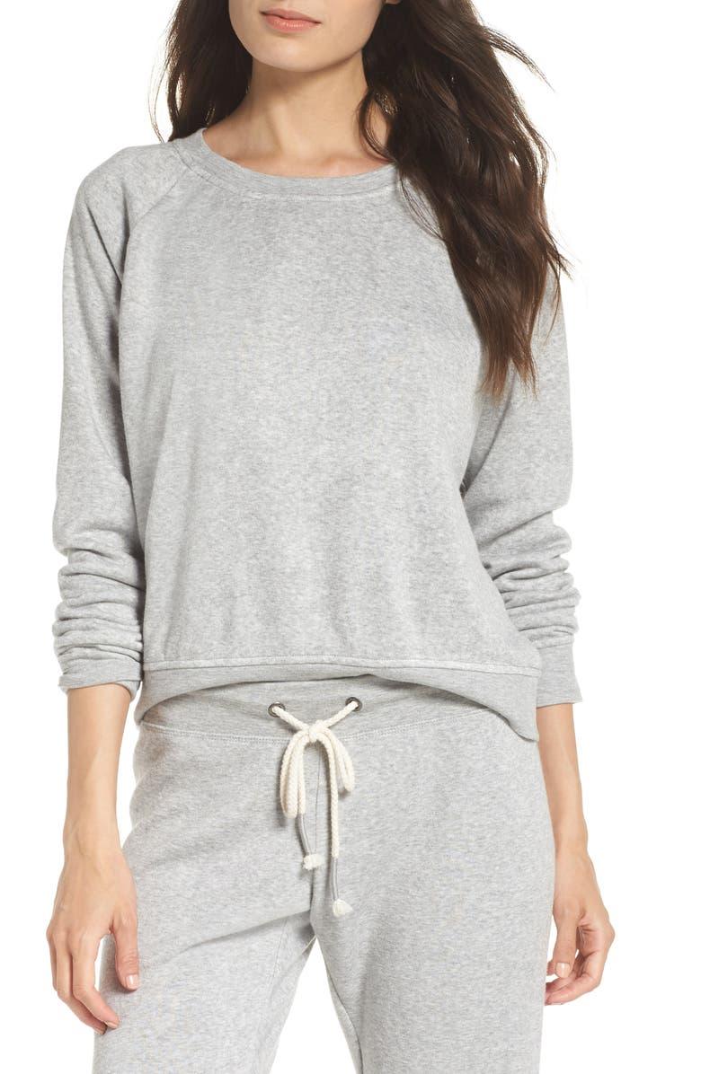 MAKE + MODEL Dreamy Raglan Sweatshirt, Main, color, 030