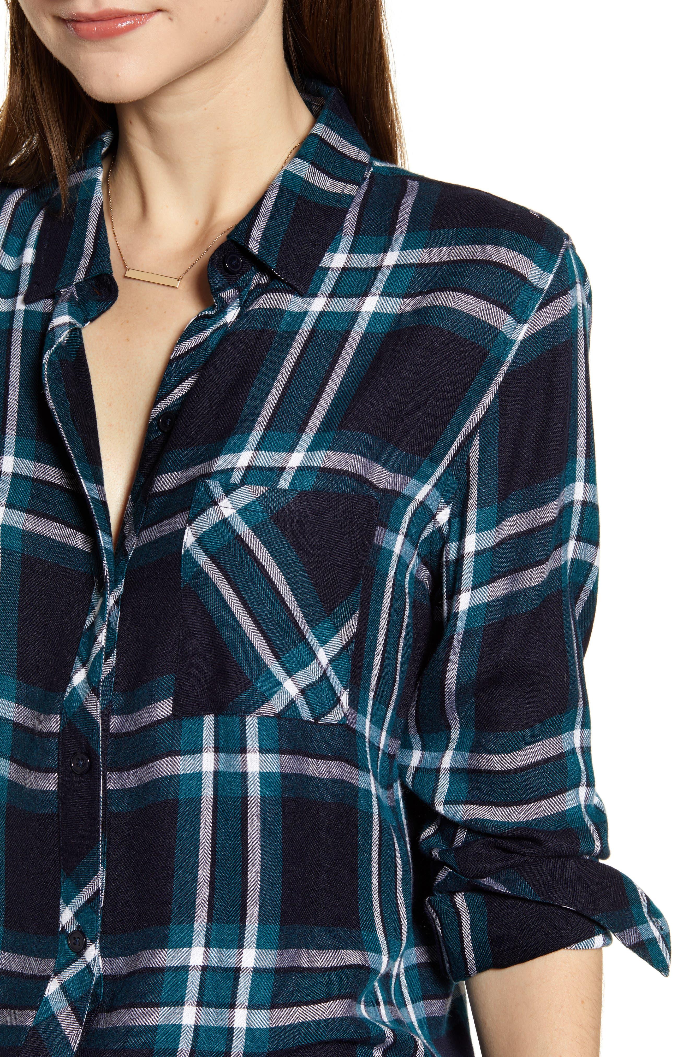 ,                             Hunter Plaid Shirt,                             Alternate thumbnail 41, color,                             423