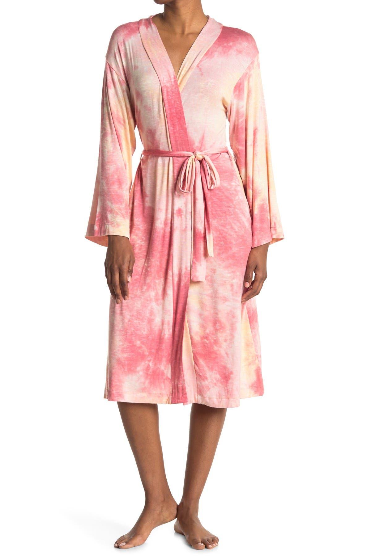 Image of Socialite Midi Tie Dye Robe