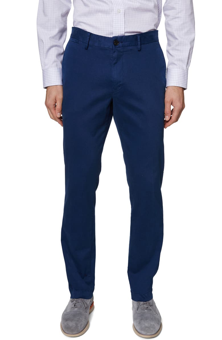 HICKEY FREEMAN Core Dress Pants, Main, color, NAVY