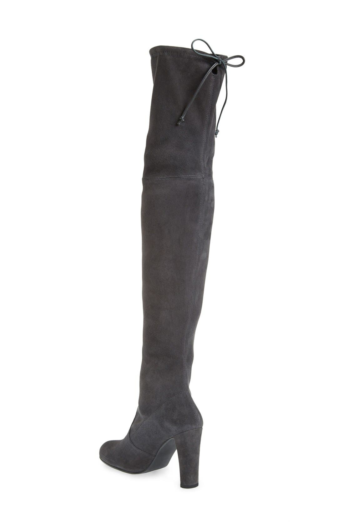 ,                             'Highland' Over the Knee Boot,                             Alternate thumbnail 8, color,                             021