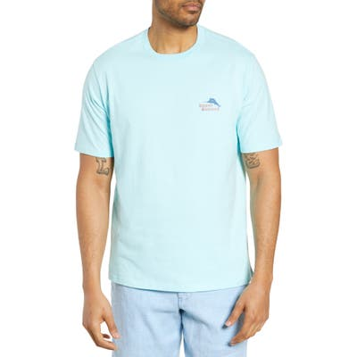 Tommy Bahama Thirst & Gull Graphic T-Shirt, Blue
