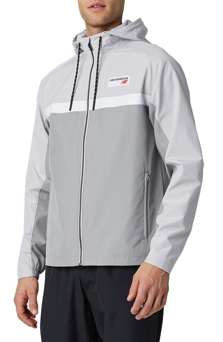 NEW BALANCE Athletics 78 Jacket, Main, color, TEAM AWAY GREY