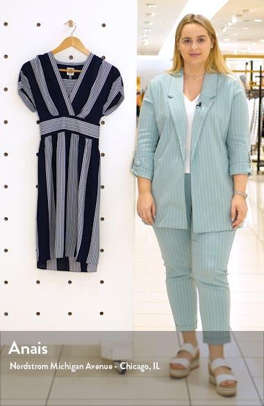 Stripe Belted Dress, sales video thumbnail