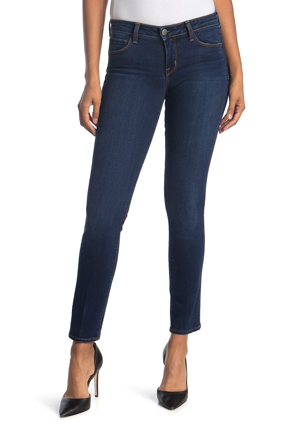 Image of L'AGENCE Coco Midrise Straight Leg Jeans