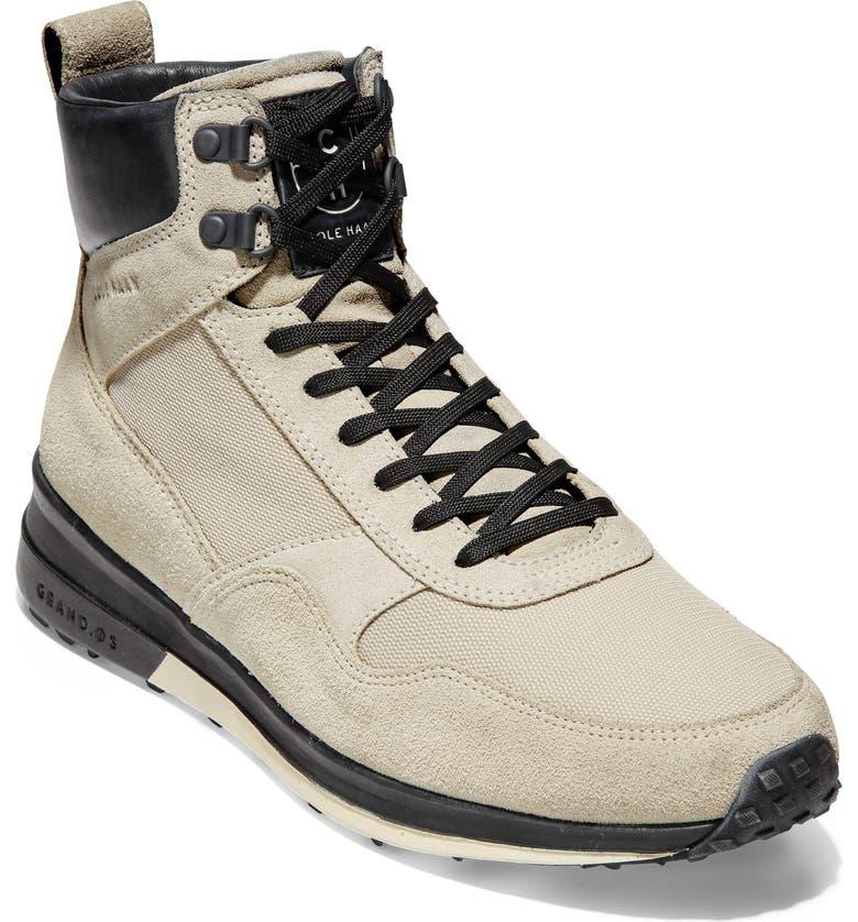 COLE HAAN GrandPro Hiker Sneaker, Main, color, SILVER LINING